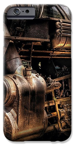 Train - Engine -  Now boarding iPhone Case by Mike Savad