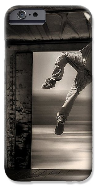 Train Jumping iPhone Case by Bob Orsillo