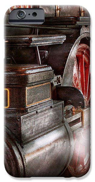 Train - Let off some steam  iPhone Case by Mike Savad