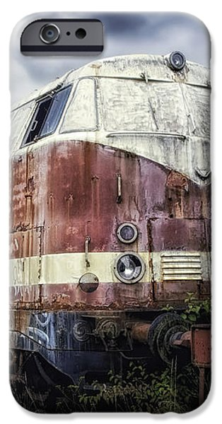 Train Memories iPhone Case by Mountain Dreams