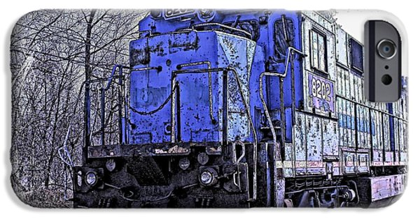 Industry iPhone Cases - Train Series iPhone Case by Marcia Lee Jones