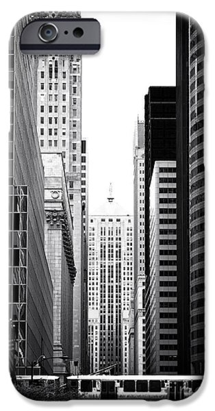 Raised Image iPhone Cases - Train through the City iPhone Case by John Rizzuto