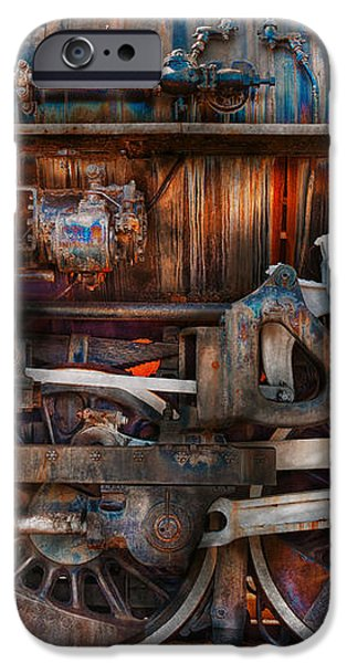 Train - With age comes beauty  iPhone Case by Mike Savad