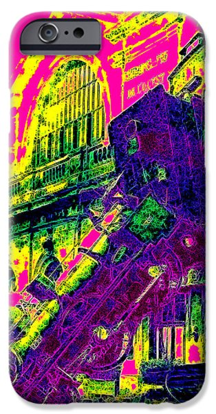 Infamous iPhone Cases - Train Wreck At Montparnasse Station 20130525 iPhone Case by Wingsdomain Art and Photography