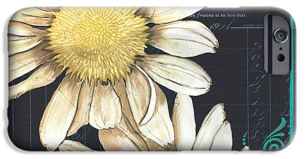 Daisy iPhone Cases - Tranquil Daisy 1 iPhone Case by Debbie DeWitt