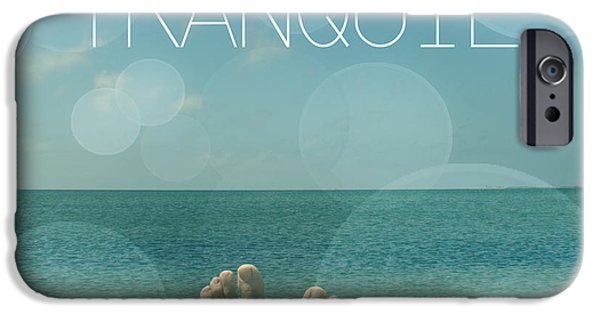 Animation iPhone Cases - Tranquil  iPhone Case by Mark Ashkenazi
