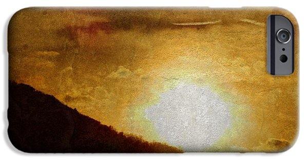 The Hills Mixed Media iPhone Cases - Tranquil Sunrise iPhone Case by Dan Sproul
