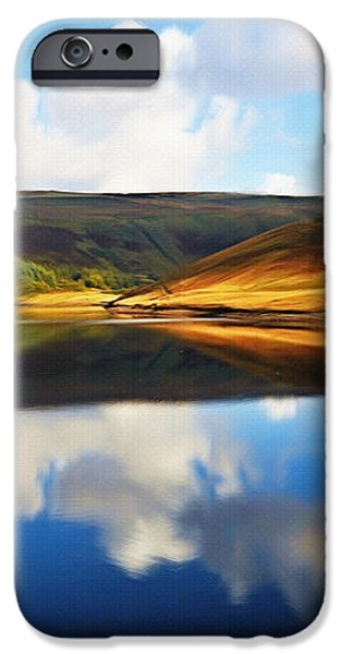 Tranquility iPhone Case by Ayse Deniz