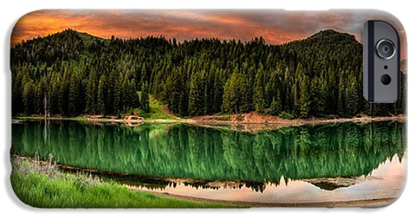 Reservoir iPhone Cases - Tranquility iPhone Case by Brett Engle
