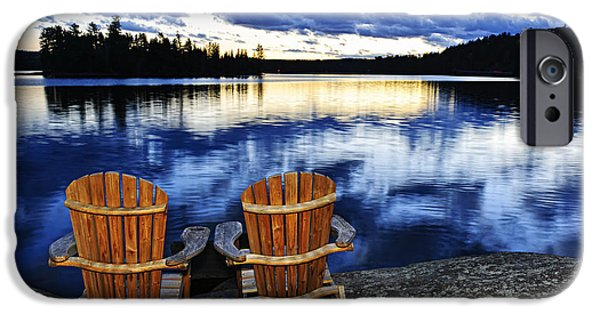 Algonquin iPhone Cases - Tranquility iPhone Case by Elena Elisseeva