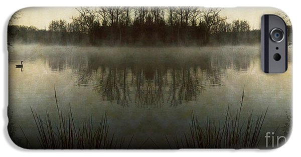 Asheville iPhone Cases - Tranquility Lake iPhone Case by Doug Sturgess