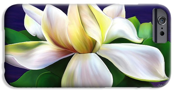 Florals Pastels iPhone Cases - Tranquility iPhone Case by Laura Bell