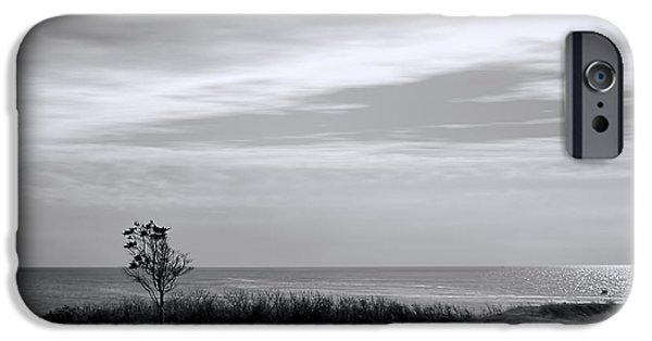 New England Lighthouse iPhone Cases - Tranquility iPhone Case by Lourry Legarde