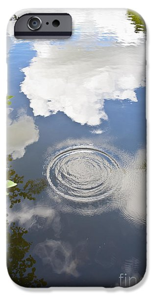 Nature Abstract iPhone Cases - Tranquillity iPhone Case by Jan Bickerton