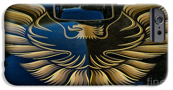 Balck Art iPhone Cases - Trans Am Eagle iPhone Case by Paul Ward