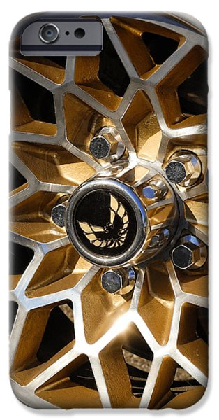 Trans-Am Snowflake Wheel iPhone Case by Gordon Dean II