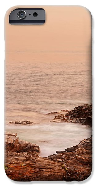 New England Landscapes iPhone Cases - Transcend iPhone Case by Lourry Legarde