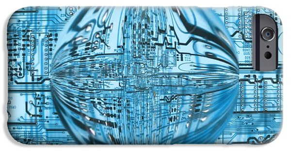 Fuse iPhone Cases - Transcendence iPhone Case by Dan Sproul