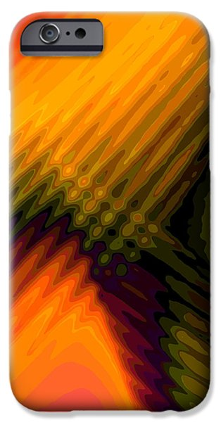 Transformation iPhone Cases - Transformation 1 iPhone Case by Tom Druin