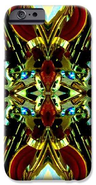 Socal Mixed Media iPhone Cases - Transformer 1 iPhone Case by Romy Galicia