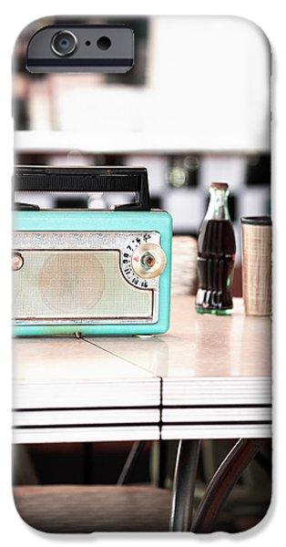 Electrical Equipment iPhone Cases - Transistor radio iPhone Case by Jodi Jacobson
