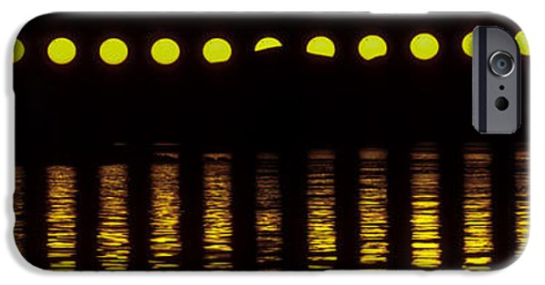 Norwegian Sunset iPhone Cases - Transit Of Venus And The Midnight Sun iPhone Case by Babak Tafreshi