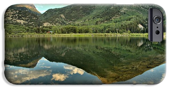 Beaver Lake iPhone Cases - Translucent Waters iPhone Case by Adam Jewell
