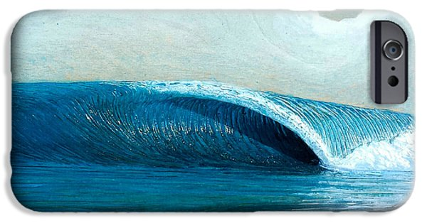 Ocean Reliefs iPhone Cases - Transparent Sea iPhone Case by Nathan Ledyard
