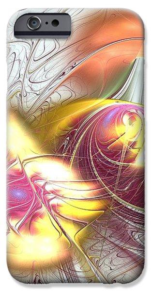 Transwarp iPhone Case by Anastasiya Malakhova