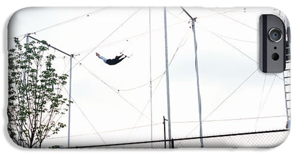 Cooperation iPhone Cases - Trapeze School New York, Hudson River iPhone Case by Panoramic Images