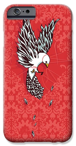 Surreal Illustration Digital iPhone Cases - Trapped iPhone Case by Budi Kwan