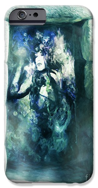 Inner Self iPhone Cases - Trapped iPhone Case by Georgiana Romanovna