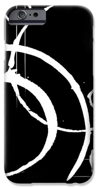 Abstract Digital Mixed Media iPhone Cases - Treachery iPhone Case by Melissa Smith
