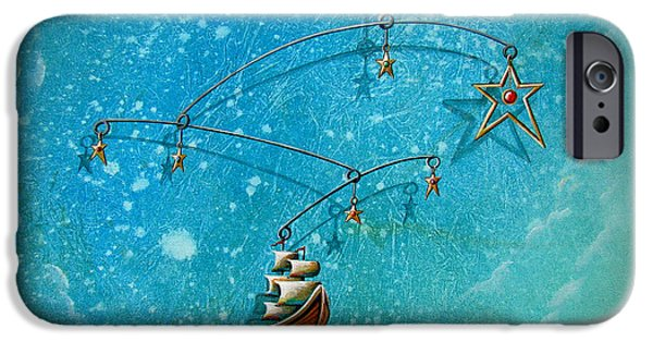 Pirate Ships iPhone Cases - Treasure Hunter iPhone Case by Cindy Thornton
