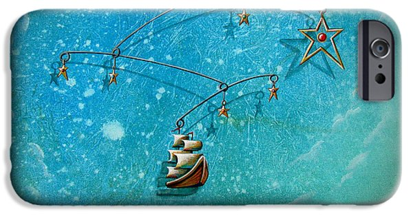 Pirate Ship iPhone Cases - Treasure Hunter iPhone Case by Cindy Thornton