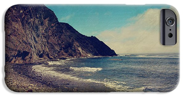 Seascape iPhone Cases - Treasures iPhone Case by Laurie Search