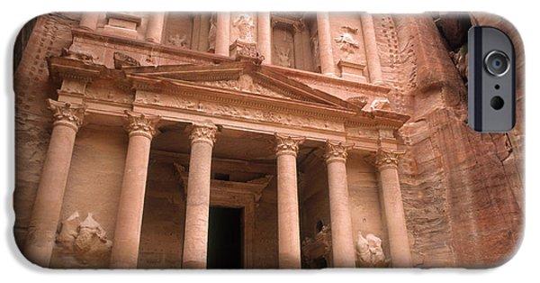 Jordan iPhone Cases - Treasury, Petra, Jordan iPhone Case by Catherine Ursillo
