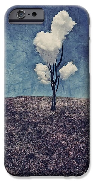 Tree Clouds 01d2 IPhone 6 Case by Aimelle