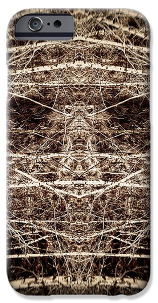 Tree Mask iPhone Case by Wim Lanclus