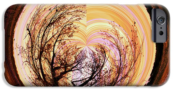 Orb iPhone Cases - Tree of Life iPhone Case by Molly McPherson