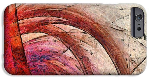 Abstract Digital Photographs iPhone Cases - Tree of Life Square iPhone Case by Edward Fielding