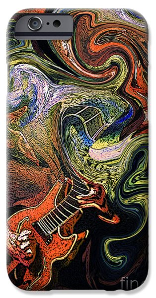 Jam Digital iPhone Cases - Trey Anastasio TWO iPhone Case by Kevin J Cooper Artwork