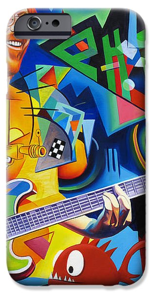 Trey Kandinsky  iPhone Case by Joshua Morton