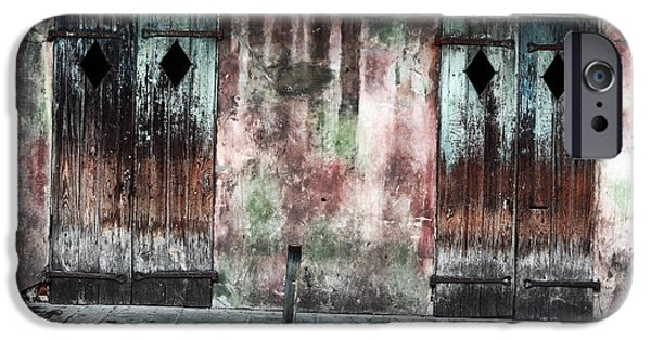 Big Easy iPhone Cases - Triangle Doors iPhone Case by John Rizzuto