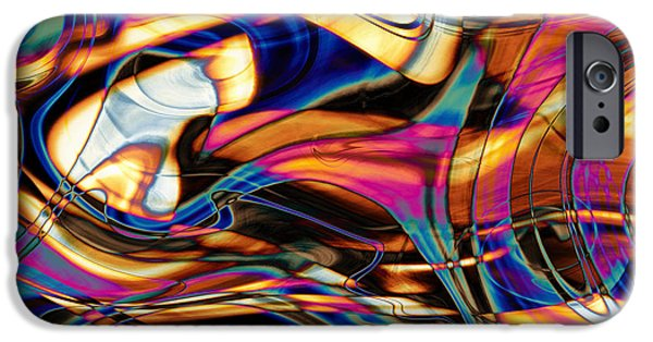 Kyle Wood iPhone Cases - Triangulating Elements Of Other Worlds iPhone Case by Kyle Wood