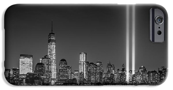 Manhatan iPhone Cases - Tribute in Light 2013 iPhone Case by Mihai Andritoiu