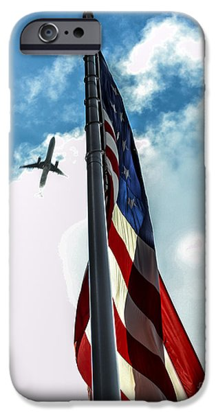 Tribute to the Day America Stood Still iPhone Case by Rene Triay Photography