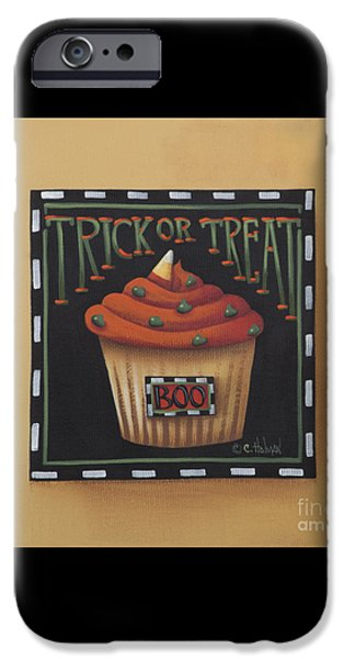 Trick or Treat iPhone Case by Catherine Holman