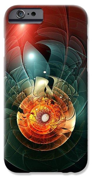 Trigger Image iPhone Case by Anastasiya Malakhova
