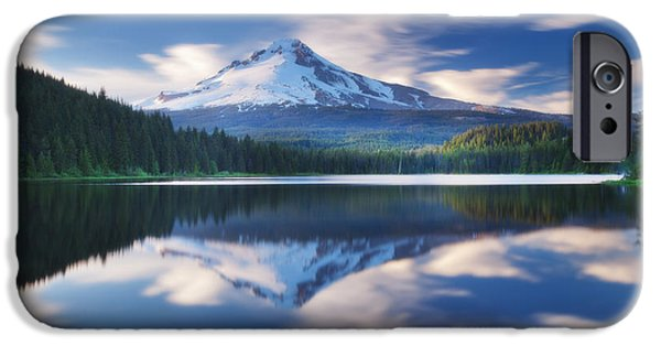 Darren iPhone Cases - Trillium Escape iPhone Case by Darren  White